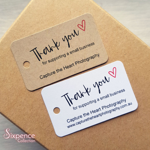 Thank you for supporting a small business tags - Product tags, Etsy order tags, Website order tags, Small business tags.