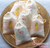 Tropical Party themed muslin favour bags