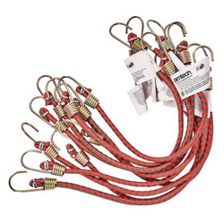 """Luggage Hooks Car New Cord Straps Camping Sets Caravan 2pc 48/"""" Bungee Cords"""