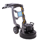The Helix has a folding handle for work in tight spaces and ease of transport