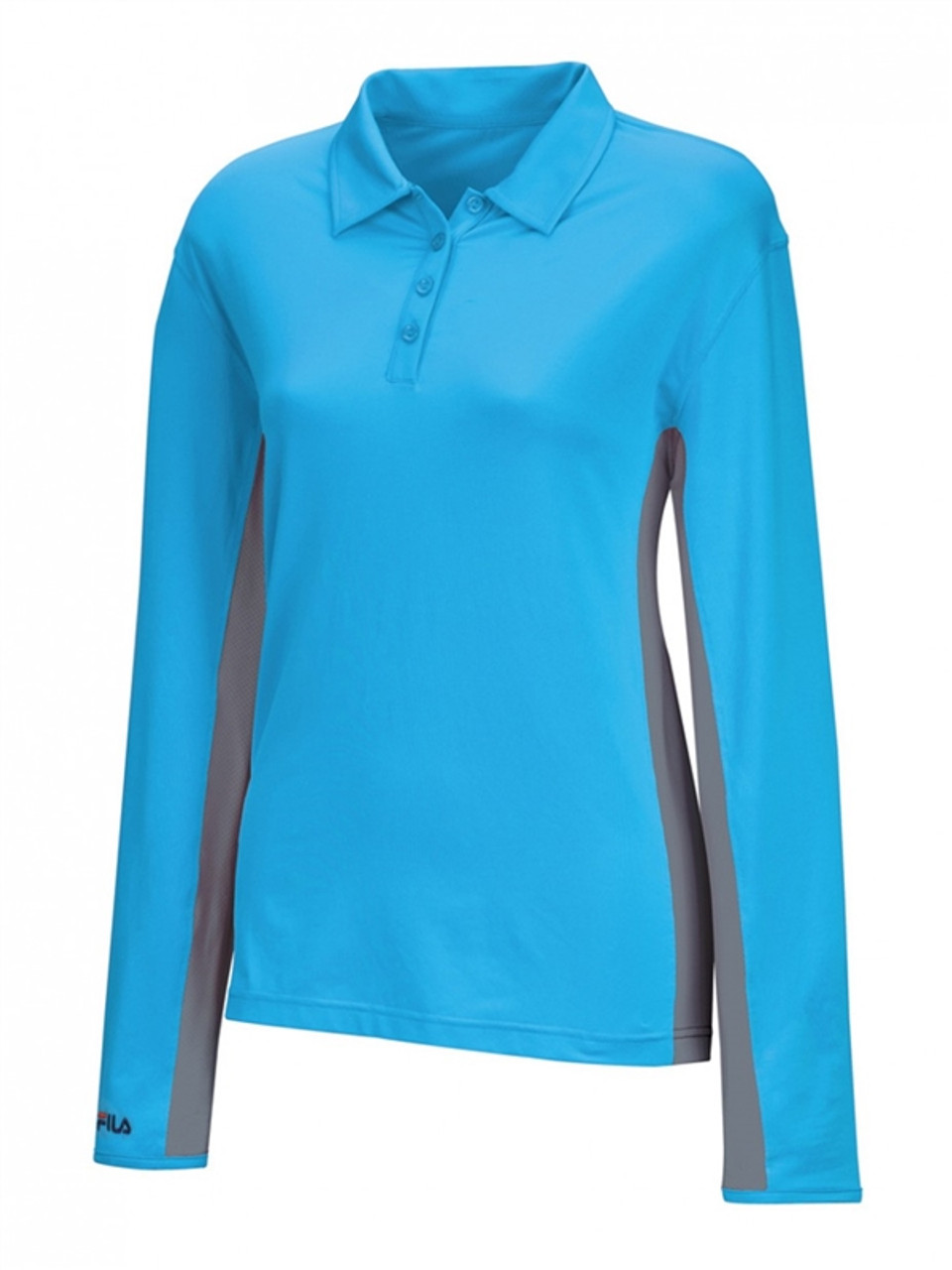 6b35f27160a FILA Golf Newport Long Sleeve Polo 3 Colors