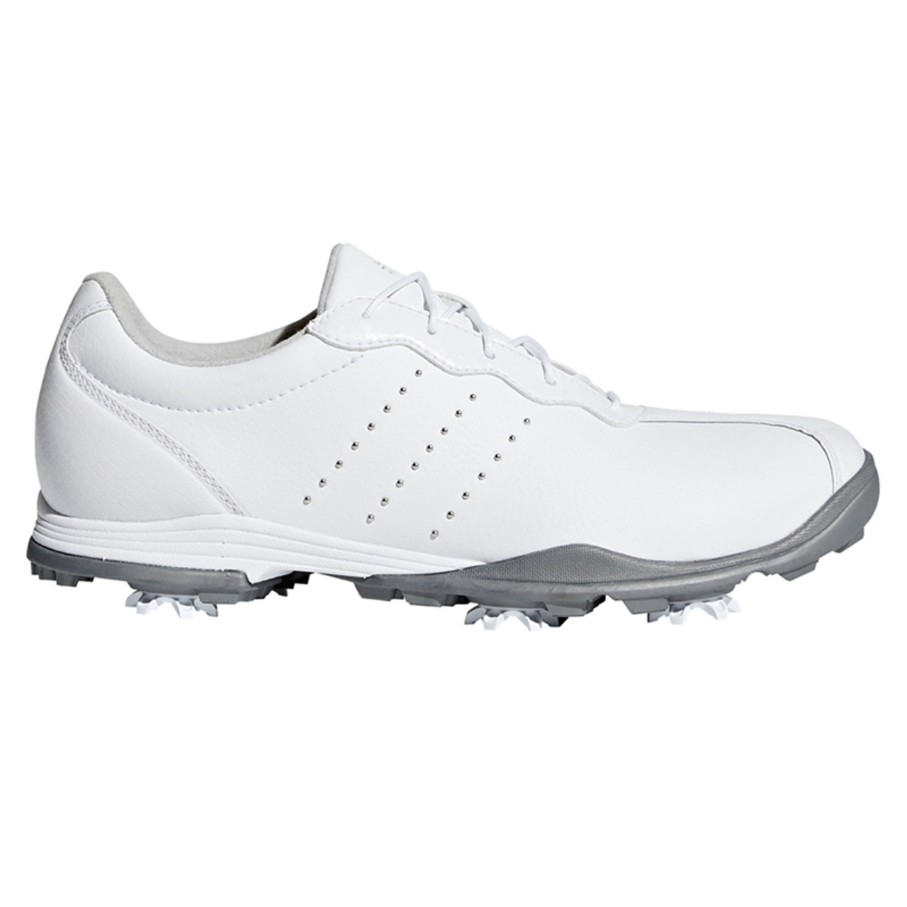 new style d4905 862a9 Adidas adiPURE DC Golf Shoe (White)  Golf4Her