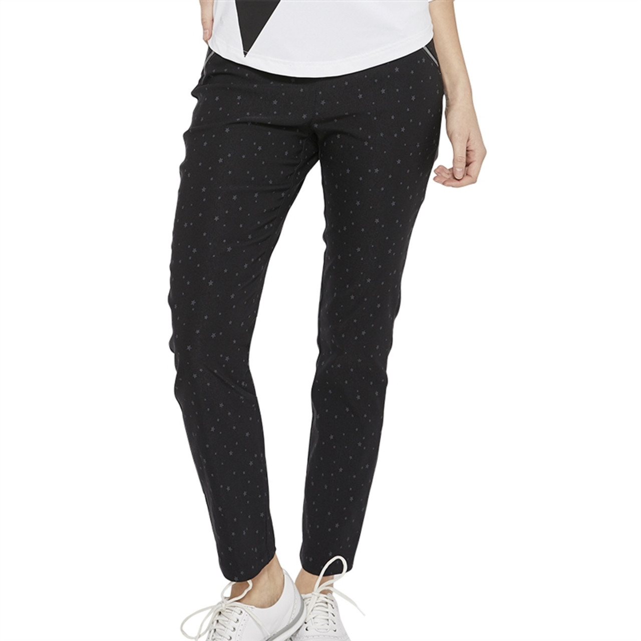 e3711aab GG Blue Striking Pant - Black | Golf4Her