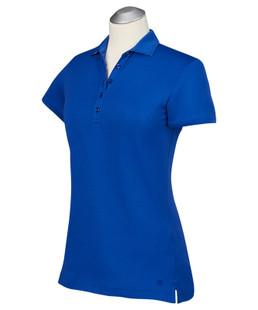 Bobby Jones Supreme Cotton Solid Polo - Marina Blue