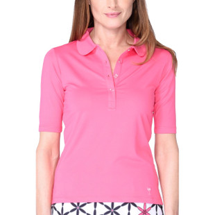 Elbow Fashion Tech Top - Hot Pink