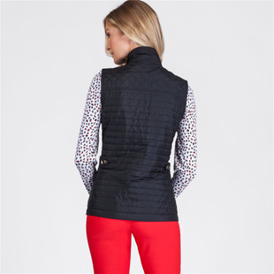 Tail Lee Quilted Vest - Black