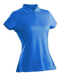 Nancy Lopez Luster Short Sleeve Polo - Blue Bird