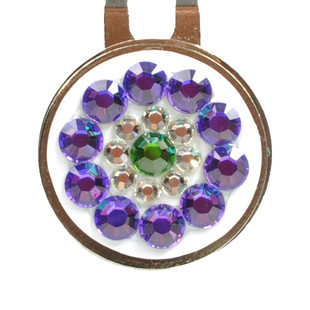 Blingo Ballmarker - Purple/Green