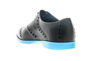 BIION Brights Golf Shoe - Black & Neon Blue