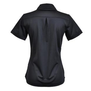 Kate Lord Chelsea Short Sleeve Polo - Black