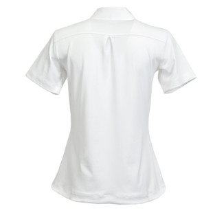 Kate Lord Chelsea Short Sleeve Polo - White