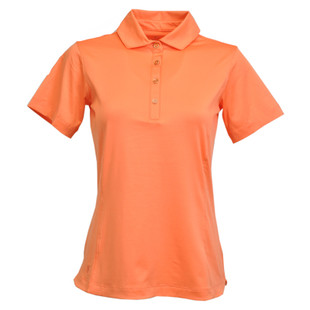 Kate Lord Chelsea Short Sleeve Polo - Persimmon