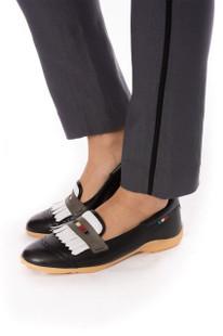 Golftini Trophy Pull-On Stretch Twill Trouser - Grey