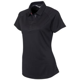 Sunice Jill Coollite Golf Polo - Black