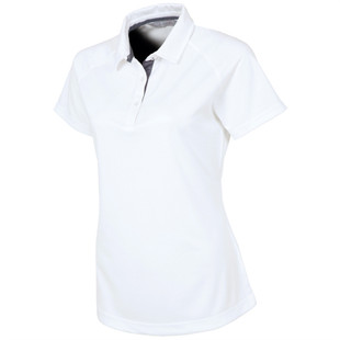 Sunice Jill Coollite Golf Polo - Pure White