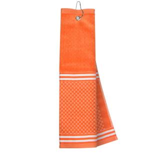 Orange Towel with Ribbon