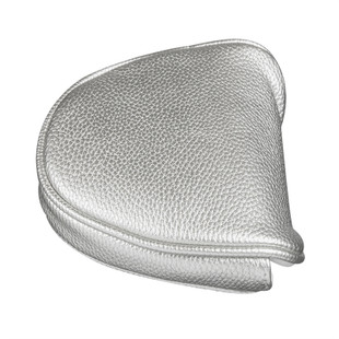 Just4Golf Mallet Putter Headcover - Metallic Silver