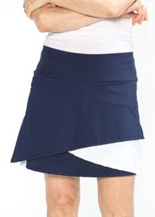 KINONA Wrap It Up Golf Skort - Navy
