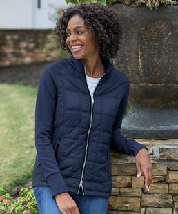 Sunice Ella Climaloft Hybrid Stretch Jacket (Core Solids)