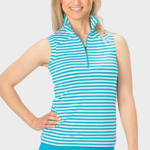 Nancy Lopez Flight Sleeveless Mock (4 colors)