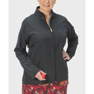 Nancy Lopez Compass Rain Jacket - Black