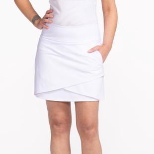 KINONA Wrap It Up Golf Skort - White