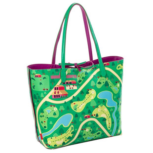 Nu Shooz Reversible Tote with Inner Pouch