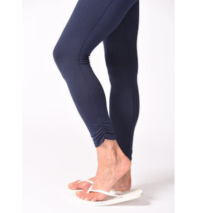 Golftini Rouched Legging - Navy