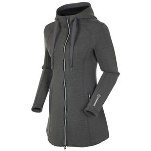 Sunice Bobbie Thermal Stretch Jacket with Hood - Black Melange