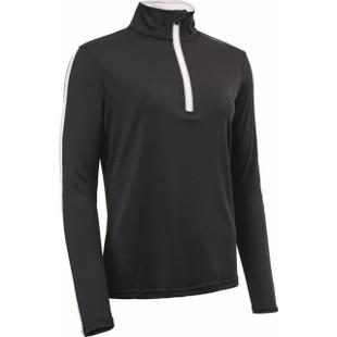 Sunburry Long Sleeve Mock - Black