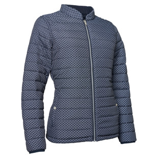 Abacus Etna Padded Reversible Jacket - Navy
