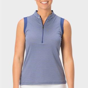 Nancy Lopez Flex Sleeveless Polo (Core)