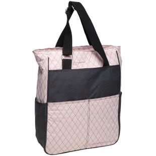 Rose Gold Quilt Tote Bag