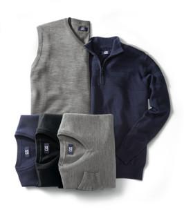Cutter & Buck Douglas V-neck Sweaters