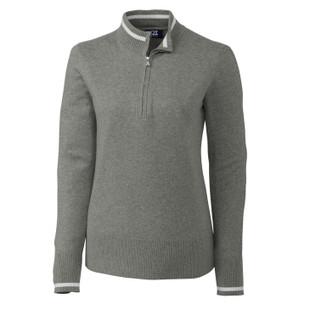 Cutter & Buck Lakemont Tipped Zip Sweaters