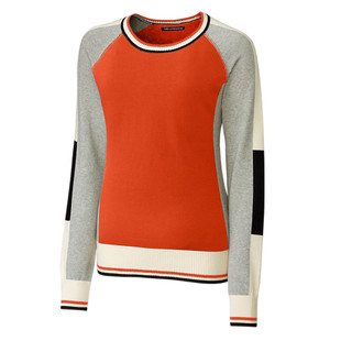 Ladies Stride Colorblock Sweater