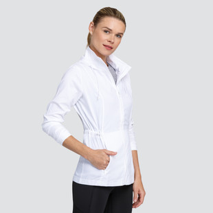 Tail Nola Water Resistant Active Jacket - Chalk White