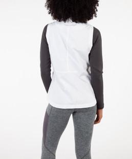 Sunice Keira Zip Wind Vest - Pure White