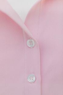 Amy Sport Laine Herringbone Sleeveless Blouse - Pink
