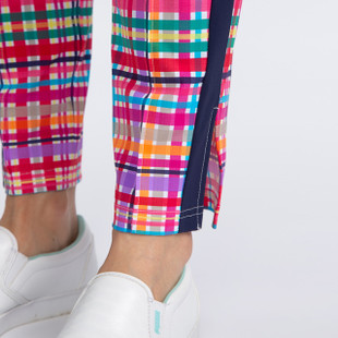 KINONA Tuck It In Golf Trouser - Mad Plaid