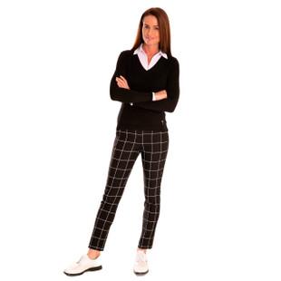 Black/White Trophy Pant