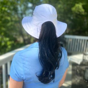 Kate Lord Ladies Ponytail Bucket Hat 2.0