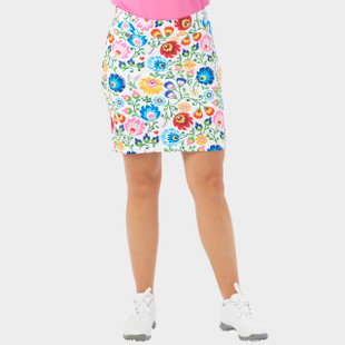 NANCY LOPEZ GOLF BEAUTY WHITE