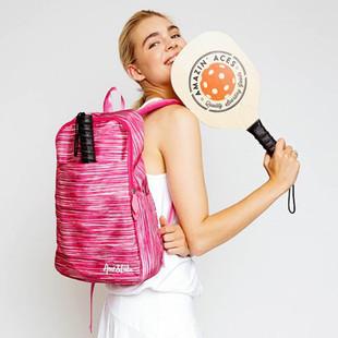 Ame & Lulu Drop Shot Pickleball Backpack