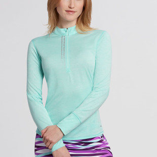 Annika Frequency Mock Half-Zip - Impulse