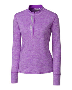 Annika Frequency Mock Half-Zip