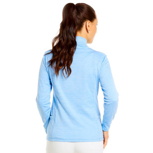 IBKUL Space Dye Waffle Knit Pullover (4 colors)