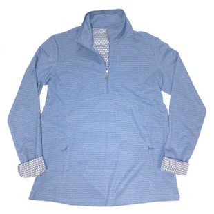 Kate Lord Flow Pullover - Iris Heather