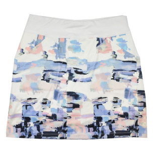 Kate Lord Cascade Skort - Watercolor