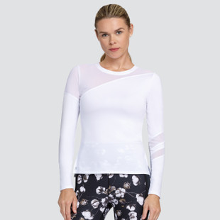 Tail Augusta Long Sleeve Top - Chalk White